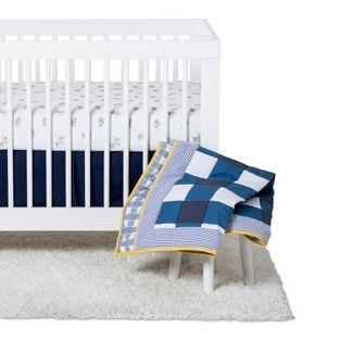Baby Boys Nursery Crib Set 4pc - Cloud Island™