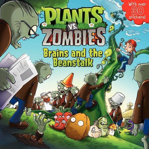 Plants vs. Zombies: Brains and the Beanstalk - by  Annie Auerbach & Popcap Games (Mixed media product) - image 1 of 1