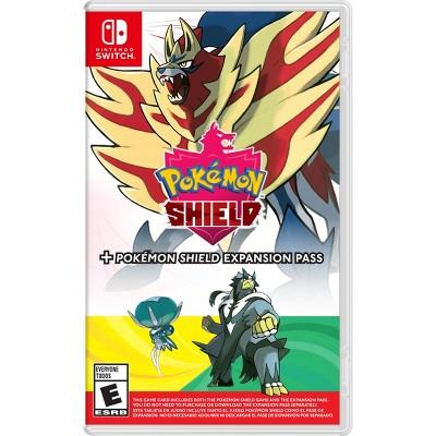 Pokemon Shield + Expansion Pass - Nintendo Switch