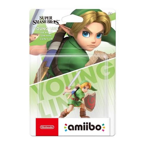 Nintendo Super Smash Bros. amiibo Figure - Young Link - image 1 of 2