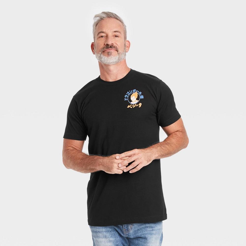 Men 39 S Dragon Ball Z Vegeta Short Sleeve T Shirt Black S