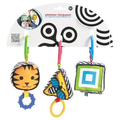 Manhattan Toy Wimmer-Ferguson Clip and Discover Shapes Travel Activity Set