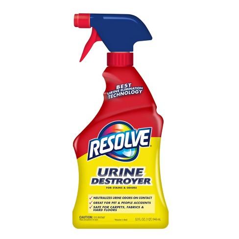 Resolve Pet Stain Urine Destroyer - 32 fl oz - image 1 of 9