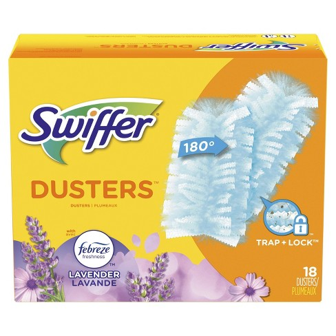 Swiffer Dusters Multi-Surface Refills, with Febreze Lavender Scent - 18ct - image 1 of 4