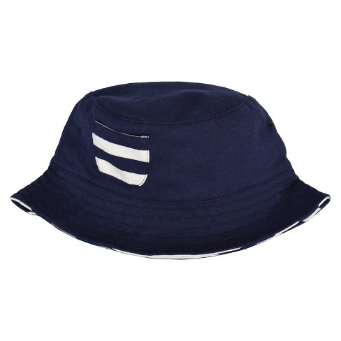 Baby Boys' Bucket Hat - Cat & Jack™ Navy 12-24M - image 1 of 2
