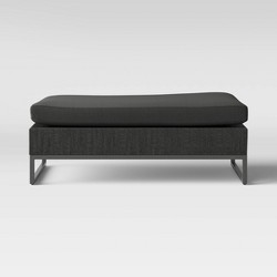 Howell Oversized Patio Ottoman - Gray - Project 62™