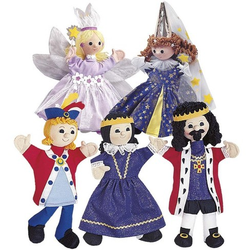 Royal Family Handmade Puppet with Costume - HearthSong - image 1 of 1