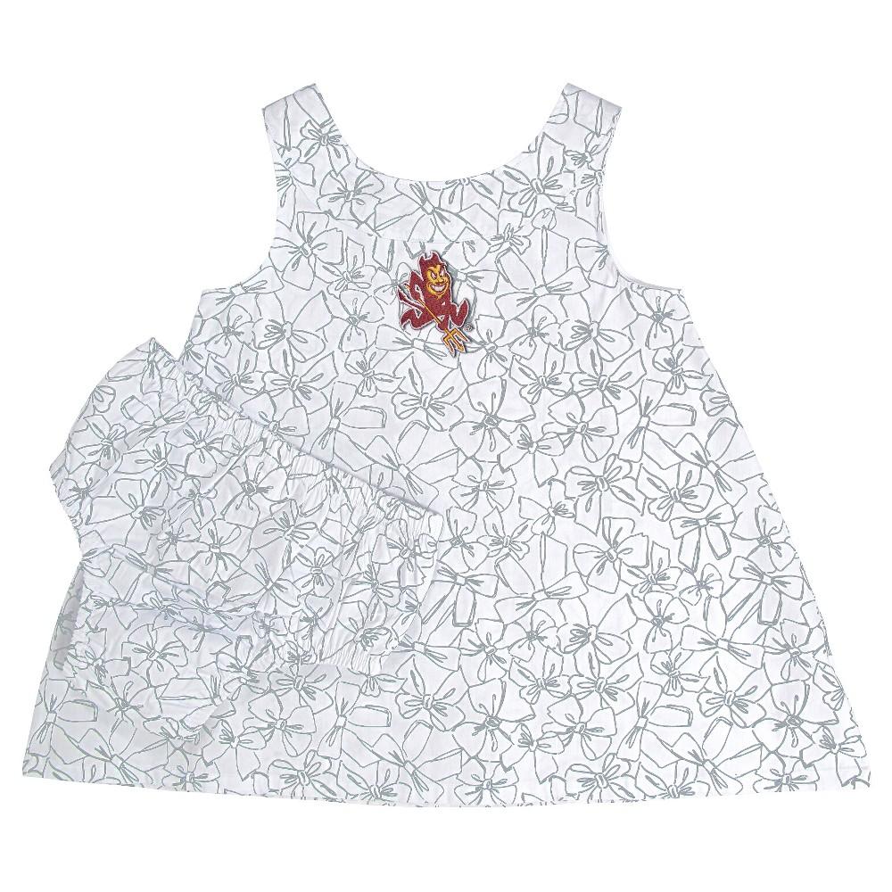 NCAA Arizona State Sun Devils Girls' Toddler Dress - 3T, Blue