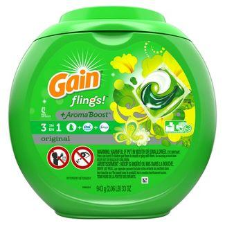 Gain flings! Laundry Detergent Pacs Original - 42ct