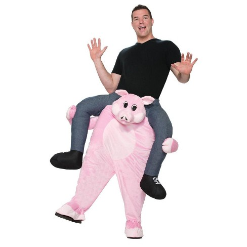 The Pig Shoulder Rider Adult Costume   Target ae1174b98e46