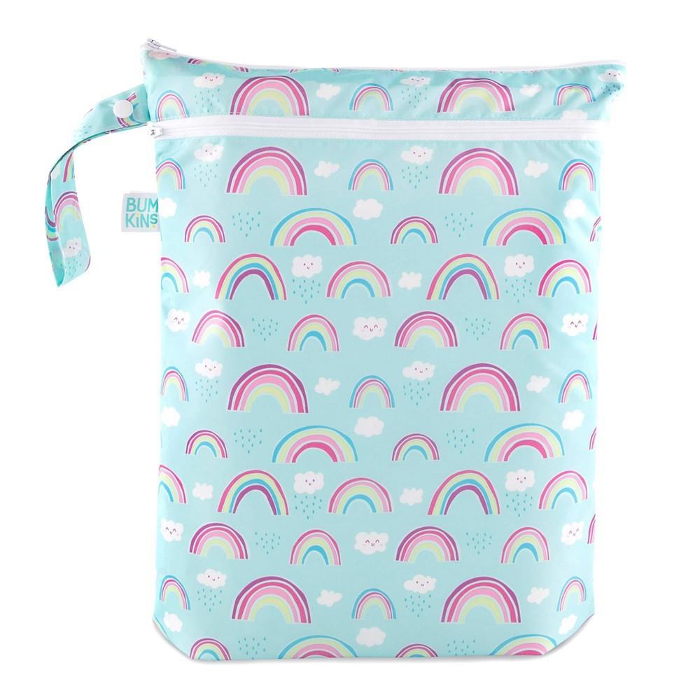 Image of Bumkins Wet/Dry Bag Rainbows