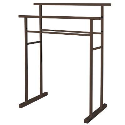 Edenscape Pedestal Steel Construction Towel Rack - Kingston Brass