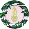 Pineapple Party Supplies Kit Gold And Green - image 3 of 4