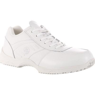 SlipGrips Stride Women's White Slip-Resistant Work Athletic Shoe