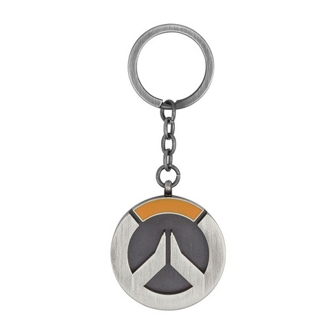 JINX Inc. Overwatch Logo Metal Keychain - image 1 of 1