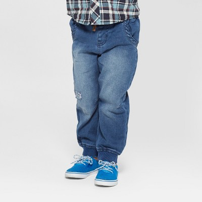 Toddler Boys' Genuine Kids from OshKosh® Jogger Denim - Medium Blue 5T