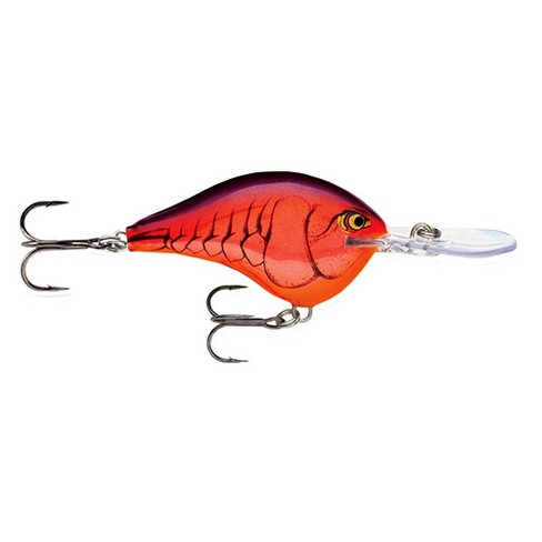 Rapala Artisan Bass Angler Dives-To Series Custom Ink Lure - Size 6 - Demon