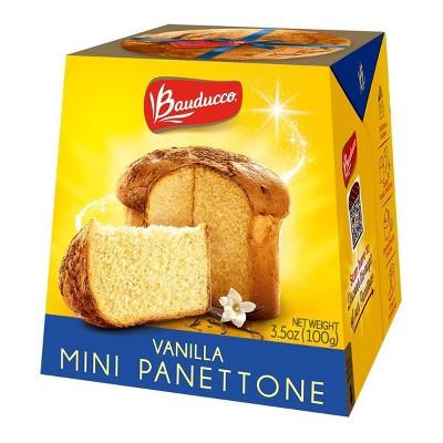 Bauducco Mini Panettone Vanilla - 3.5oz/24pk