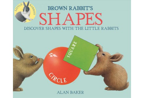 Brown Rabbit's Shapes (Reprint) (Hardcover) (Alan Baker) - image 1 of 1