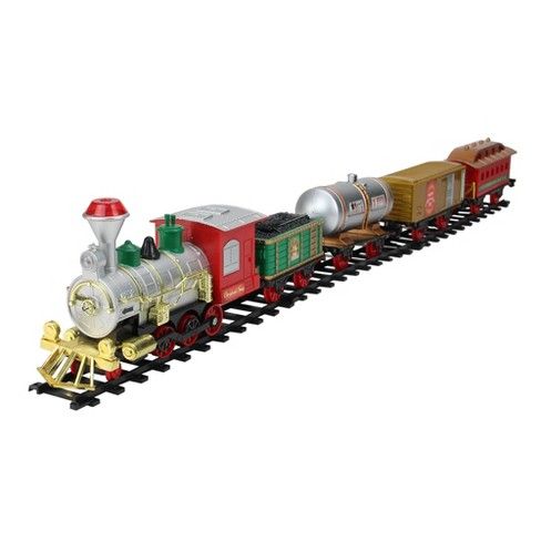 Northlight 17-Piece Battery Operated Lighted and Animated Christmas Express Train Set with Sound - image 1 of 3