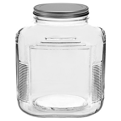 Anchor Hocking Glass Cracker Jar 1gal