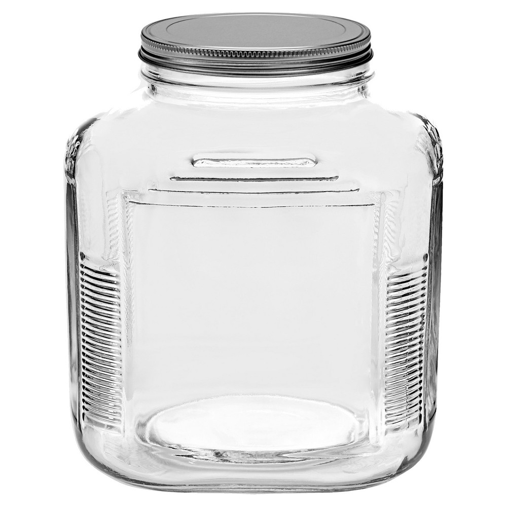 Image of Anchor Hocking Glass Cracker Jar 1gal