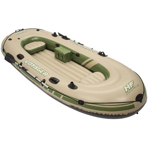 Bestway Hydro Force Voyager 500 Inflatable Lake Ocean Boat Raft Set W/ Oars - image 1 of 6