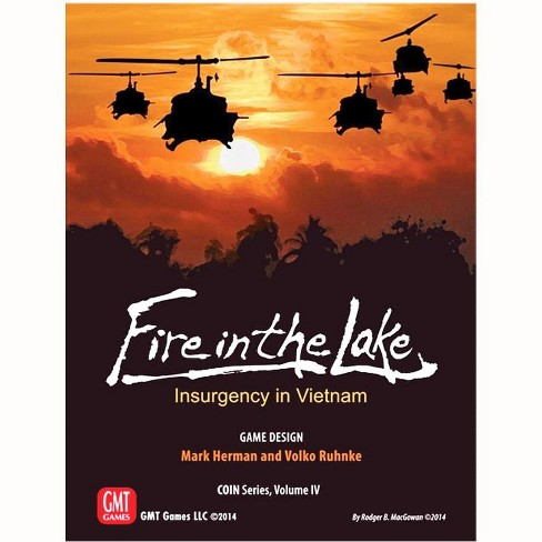Fire in the Lake - Insurgency in Vietnam (2nd Edition) Board Game - image 1 of 1