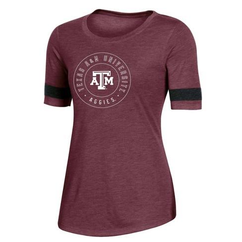 NCAA Texas A&M Aggies Women's Short Sleeve Crew Neck T-Shirt - image 1 of 2