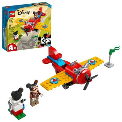 LEGO Disney Mickey and Friends Mickey Mouse's Propeller Plane 10772 Building Kit