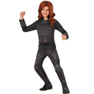 Rubies Marvel's Captain America: Civil War Deluxe Girls Black Widow Costume