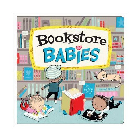 Bookstore Babies - by  Puck (Board_book) - image 1 of 1