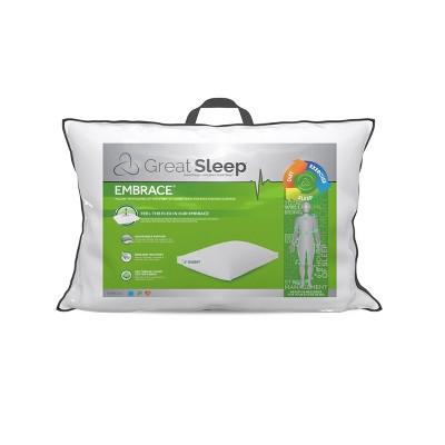 Embrace Side Sleeper Pillow - Great Sleep