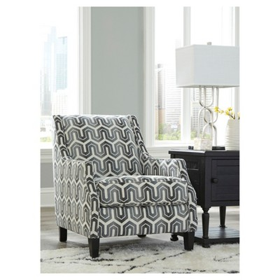 Genial Accent Chairs Gunmetal   Signature Design By Ashley : Target