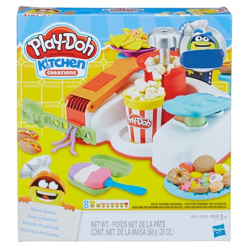 Play Doh Kitchen Creations Movie Snacks Set Target
