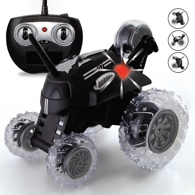 Sharper Image  RC  Monster Spinning Car - Black