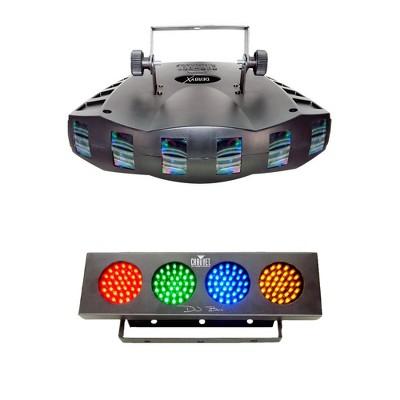 Chauvet DJ Derby X DMX-512 LED Strobe Lighting | Bank RGBA LED Wash Effect Light