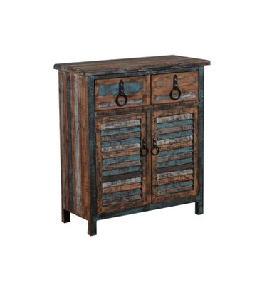Exceptionnel Marley Console Cabinet Distressed   Powell Company