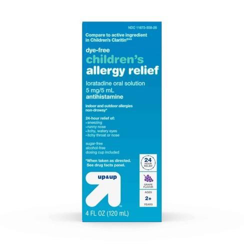 Children's Loratadine Allergy Relief Liquid - Grape - 4 fl oz - Up&Up™ - image 1 of 4