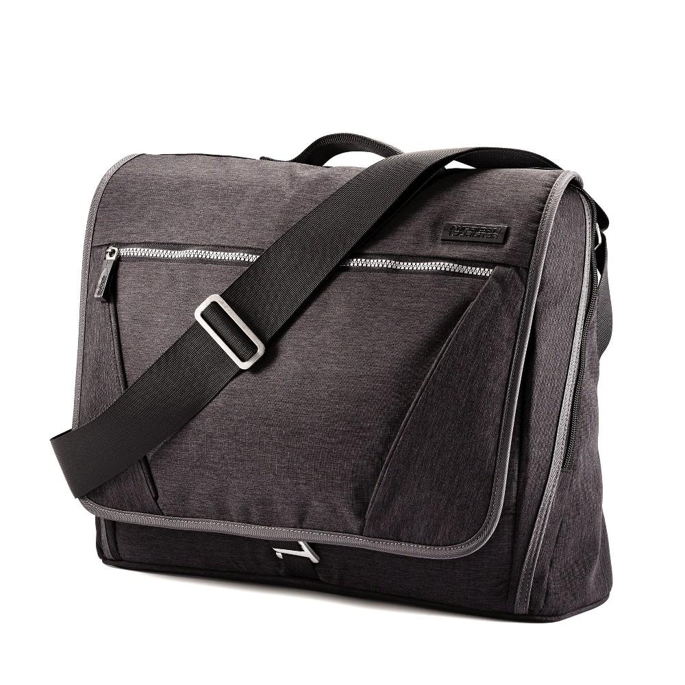 American Tourister 15 Messenger Bag/Backpack - Grey, Dark Grey