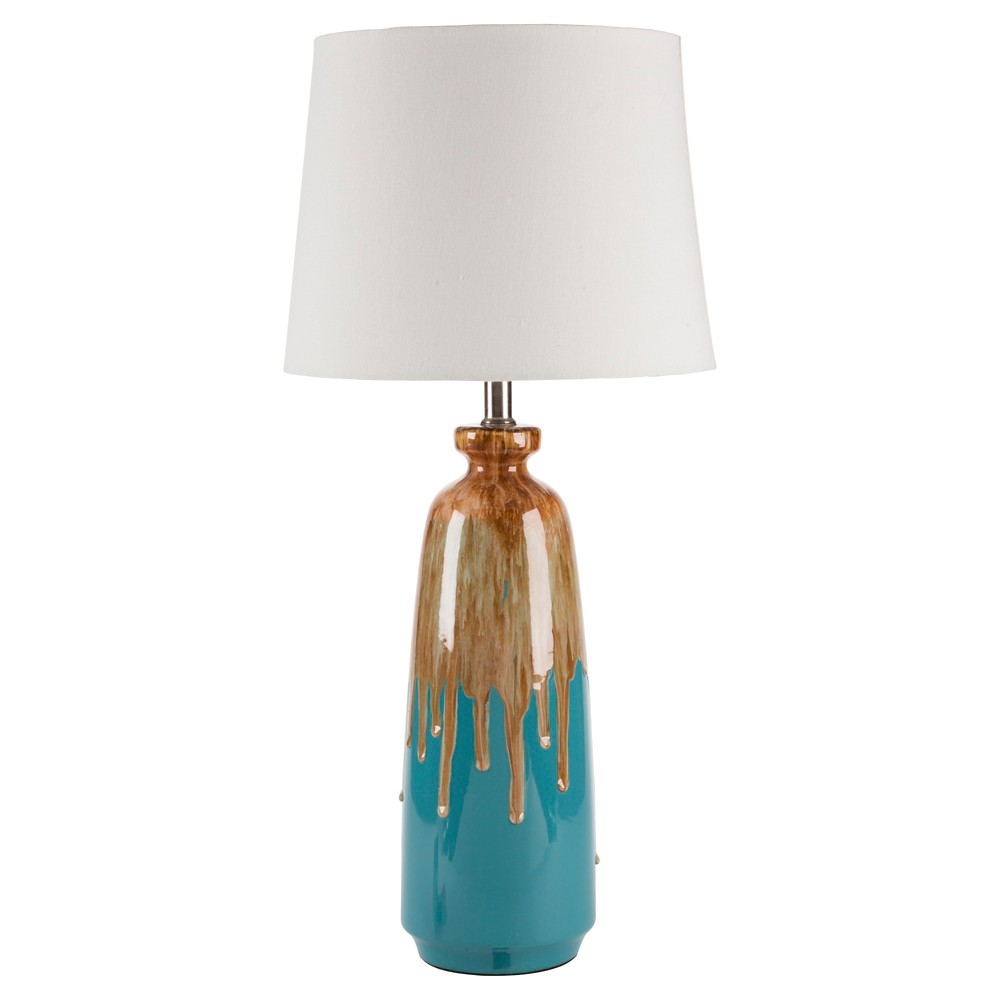 Wilhelm Table Lamp (Lamp Only) - Blue, Brown