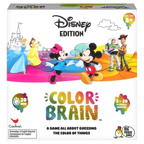 Color Brain Disney Edition Card Game - image 1 of 4