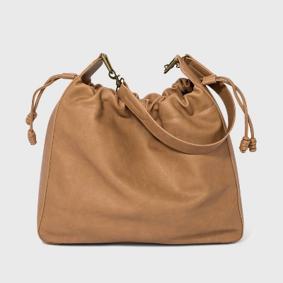 Drawstring Closure Shoulder Bag - Universal Thread™