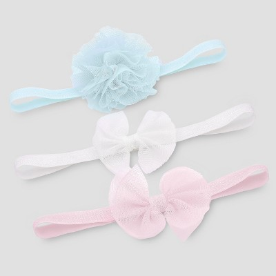 Baby Girls' 3pk Headwraps - Just One You® made by carter's One Size
