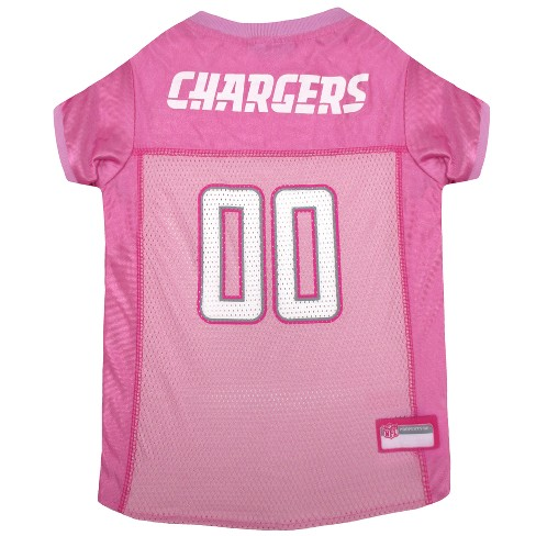 NFL Pets First Pink Pet Football Jersey - Los Angeles Chargers 38b05a8fd