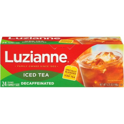 Luzianne Decaf Iced Tea - 24ct