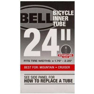 """Bell 24"""" Bike Tire Tube - Black"""