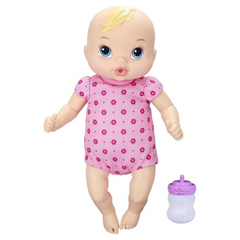 Baby Alive Luv 'n Snuggle Baby Blonde - image 1 of 2