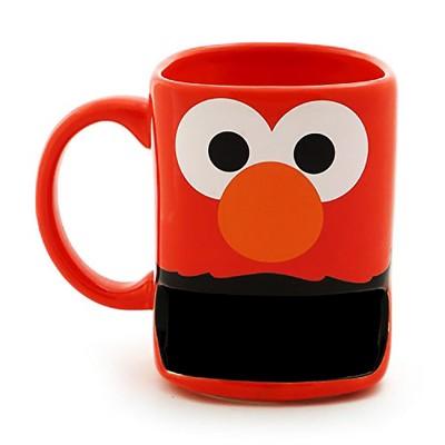 Sesame Street Elmo with Cookie Slot 10oz Stoneware Mug