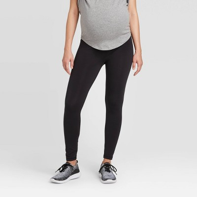 Maternity Crossover Panel Active Leggings - Isabel Maternity by Ingrid & Isabel™ Black XL